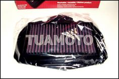 filtro de aire k&n para yamaha super tenere xt1200 z tuamoto
