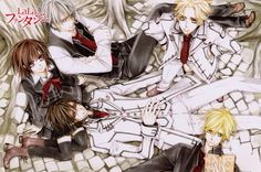 Image shared by Neptune. Find images and videos about anime, manga and vampire knight on We Heart It - the app to get lost in what you love. Yuki And Kaname, Yuki Kuran, Manga Art, Manga Anime, Anime Art, Anime Boys, Matsuri Hino, Zero Kiryu