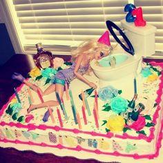 21st Birthday Cake hahaha