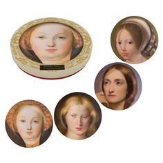 The National Gallery set Thoughtful Women side plates,