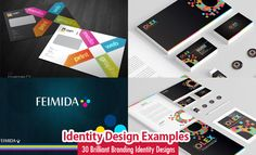 30 Brilliant Branding Identity Design examples for your inspiration. Read full article: http://webneel.com/branding-identity-design-inspiration | more http://webneel.com/branding | Follow us www.pinterest.com/webneel