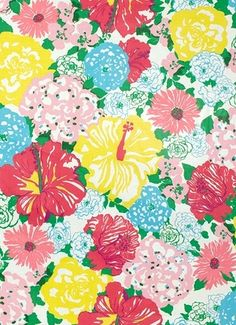 "Heritage Floral Multi - Lilly Pulitzer Fabric - Prints custom made works of art designed by Lilly Pulitzer print designers. Perfect for any home decorating project. Content; 100% cotton. Repeat; V 36"" x H 54"". Finish; GLAZED SPOT RESISTANT. Double Rubs; 15,000. 54"" wide Made in USA"