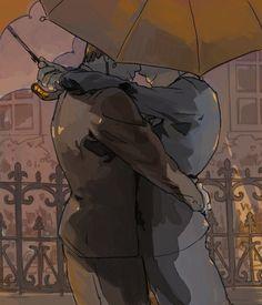 「Under My Umbrella」/「kann」のイラスト [pixiv]