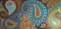 Funky Paisley by Angela Anderson