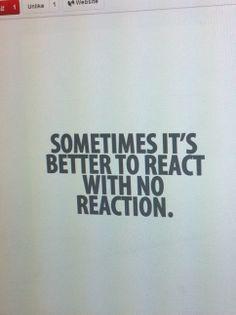 dont react