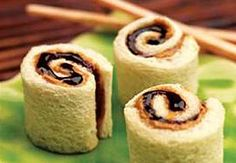 PB&J 'Sushi' Rolls...Melody would love this!