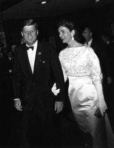 President John F. Kennedy and First Lady Jacqueline in Washington, D.C., 1962, by Cecil Stoughton