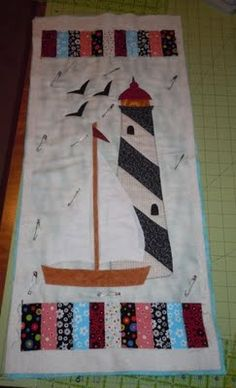 1000 Images About Lighthouse Quilts On Pinterest