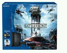 Brand New Sealed Sony Playstation 4 500GB Console Star Wars Battlefront Bundle