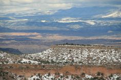 View from Los Alamos, NM