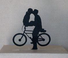 Wedding Cake Topper -Bicycle Mates