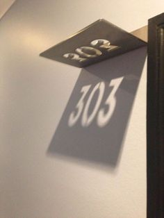 Los números de habitación son sombras