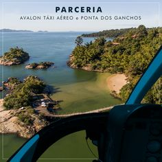 Levamos você de Florianópolis ou Navegantes direto para o exclusivo Ponta dos Ganchos, para você usufruir ao máximo o resort.🚁✨    #VoeAvalon #PontadosGanchos #VoosdeHelicoptero #Helicoptero #Aviacao