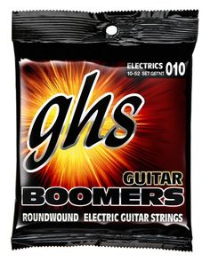 GHSGBTNT Boomers Thin-Thick Electric Guitar StringsTHESE ARE THE STRINGS I USE.