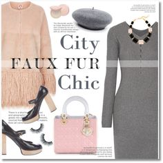A fashion look from December 2016 featuring Alexander Wang dresses, Shrimps coats and Christian Dior handbags. Browse and shop related looks.