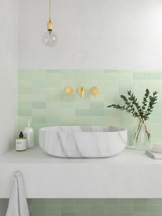 Trendy Ideas for bathroom green vanity light fixtures Vanity Light Fixtures, Bathroom Vanity Lighting, Bathroom Faucets, Bathroom Storage, Small Bathroom, Bathroom Green, Bathroom Organization, Bathroom Marble, Washroom