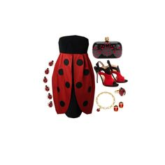 """Ladybug"" by helen-malfoy on Polyvore"
