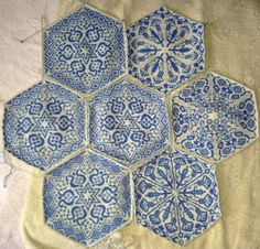 Ravelry: Project Gallery for Persian Dreams pattern by Jenise Reid