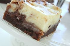 Cheesecake brownies - Jennys Matblogg