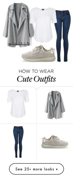 """""""Cute Outfit"""" by diavianshanelle on Polyvore featuring adidas Originals and Topshop"""