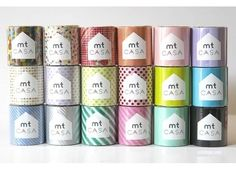 MT Casa Washi Tape #luvocracy #graphicdesign #packaging #tape