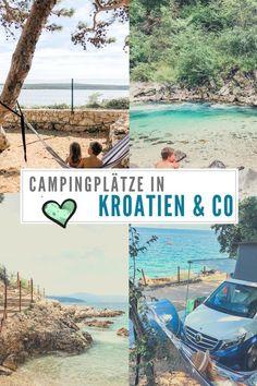 Aber auch in Slowenien und Montenegro finden wir gute Campingplätze zum Wohlfühlen. Hier die schönsten Campingplätze in Kroatien & Co während unseres Roadtrips: #camping #campingplätze #kroatien #roadtrip #slowenien #montenegro