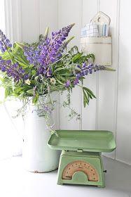 Lupines and Sweet Peas - VIBEKE DESIGN: Den er grønn og ganske skjønn!