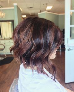 Hair colors, haircut and color, hair color balayage, balayage on Balayage Brunette, Hair Color Balayage, Brunette Hair, Hair Highlights, Balayage On Short Hair, Haircolor, Brown Balayage, Hair Color And Cut, Haircut And Color