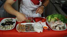 Receta: Paella de marisco (y caldo de pescado)
