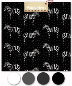 Buy fabric online Zebra PB Fofis - Panólatras