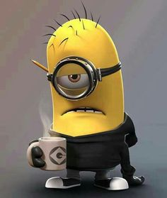 Minion Bad Morning