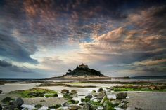 Saint Michaels Mount British Land and Sea Scapes