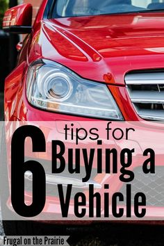 Buying a new or used car? Check out these tips to save money and make a smart purchase!