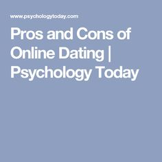 Are Today Pros Online Of Psychology Hookup And Cons are more intelligent