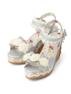 LIZ LISA Colorful Jute Sandals Blue S - Google Search