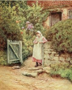 Happy England, Helen Allingham