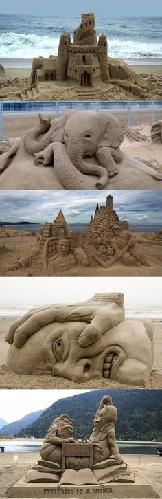 build an awesome Sand Castle :)