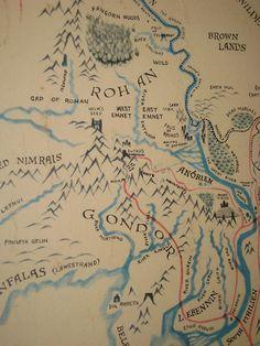 Remington map - Rohan and Gondor | Flickr - Photo Sharing!