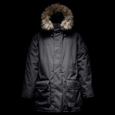 The Frank Hurley Photographer's Jacket is a collaboration between Shackleton and Leica. The limited edition jacket is in honor of Frank Hurley, photographer Severe Weather, Extreme Weather, Cold Weather, Down Parka, Freedom Of Movement, Body Heat, First World, Canada Goose Jackets, Jackets
