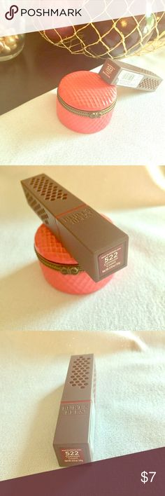 💄NWT Burt's Bees Lipstick 💄 💄NEW Burt's Bees Lipstick 💄 New & Sealed. Shade: Crimson Coast. BUNDLE AND SAVE! 30% OFF BUNDLES OF 3 OR MORE! Burt's Bees Makeup Lipstick