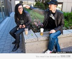 skrillex/deadmau5 I forgot how much I loves these two!