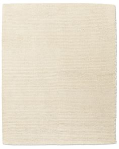 Textura Stripe Wool Rug - Cream