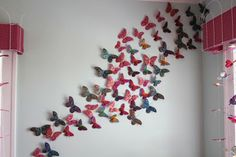 Oh! To Wake Up To a Butterfly Wall <3
