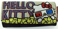 Loungefly Hello Kitty 3D Canvas Checkbook Wallet New | eBay