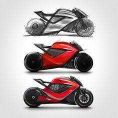 Bike Sketch, Car Design Sketch, Car Drawings, Mythological Creatures, Bike Design, Go Kart, Bugatti, Industrial Design, Motorbikes
