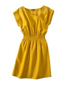 I LOVE this dress. The color. The style. Everything.