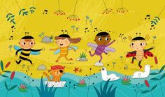 Manola Caprini - professional children's illustrator, view portfolio