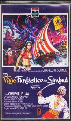 The Golden Voyage of Sinbad Classic Monster Movies, Classic Monsters, Movie Titles, Movie Tv, Movie Posters, Fantasy Movies, Sci Fi Fantasy, Sinbad The Sailor, Epic Film