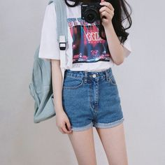 Korean Daily Fashion- Popular T-shirts for this summer 2016