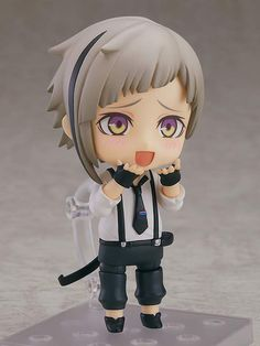 Nendoroid Doll Bungo Stray Dogs Osamu Dazai Non-scale ABS /& PVC painted movable
